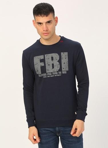 Fbi Sweatshirt Lacivert